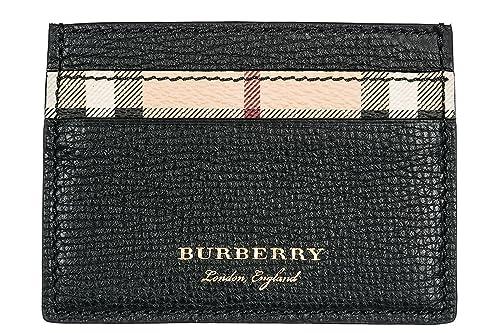 Burberry tarjetero para tarjetas de crédito en piel hombre ...