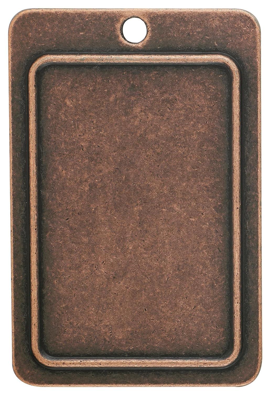 Amerock BP4483-WID Ambrosia Euro Stone SQ 3-3//4-Inch Pull Wrought Iron Dark