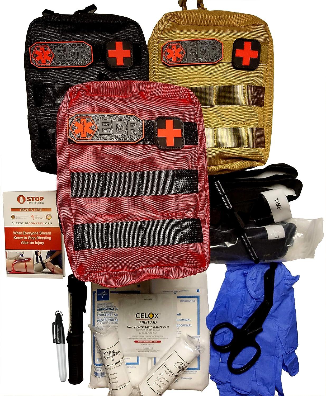 Bleeding Control Kit, Basic Trauma Pack Every Day Responder
