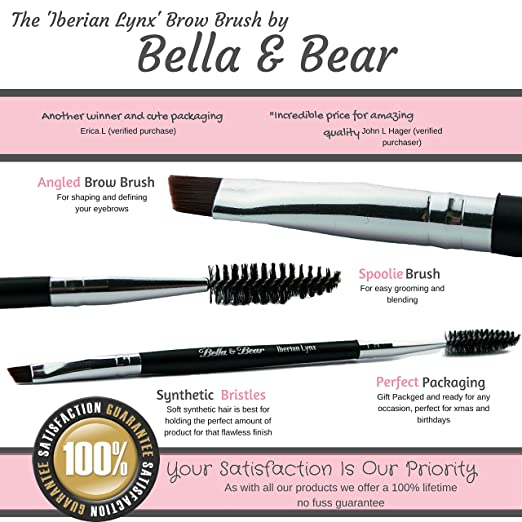 Angled Brow Brush & Spoolie by Benefit #12