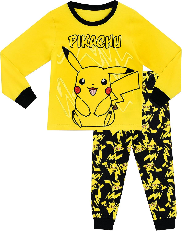 Pigiama a Maniche Lunga per Ragazzi di Pikachu Pok/émon