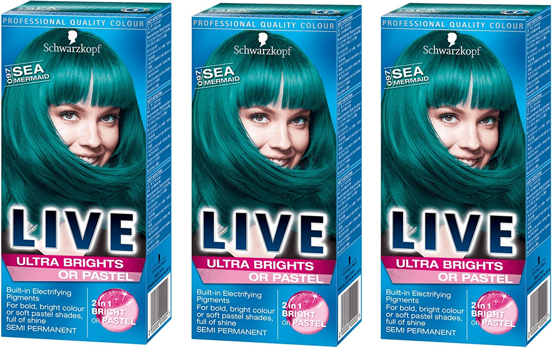Schwarzkopf Live Ultra Brights o pastel Semi Permanente mar ...