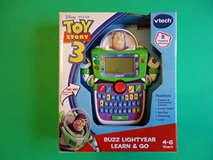Amazon.com: VTech – Toy Story 3 – Buzz Lightyear aprender y ...
