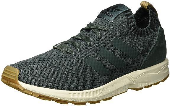 b41d83932 adidas Men s s Zx Flux Primeknit Low-Top Sneakers  Amazon.co.uk  Shoes    Bags