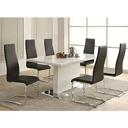 Amazon Com A Line Furniture Dover Contemporary 5 Piece Dining Set