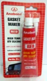 Anabond Gasket Maker Red - 85 GMS - High Temp. RTV Silicone