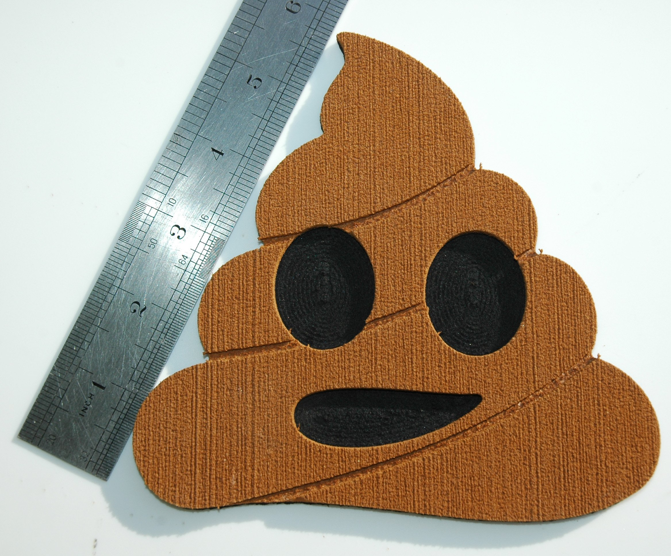 Toejamr Snowboard Stomp Pad Poo Emoji Brown
