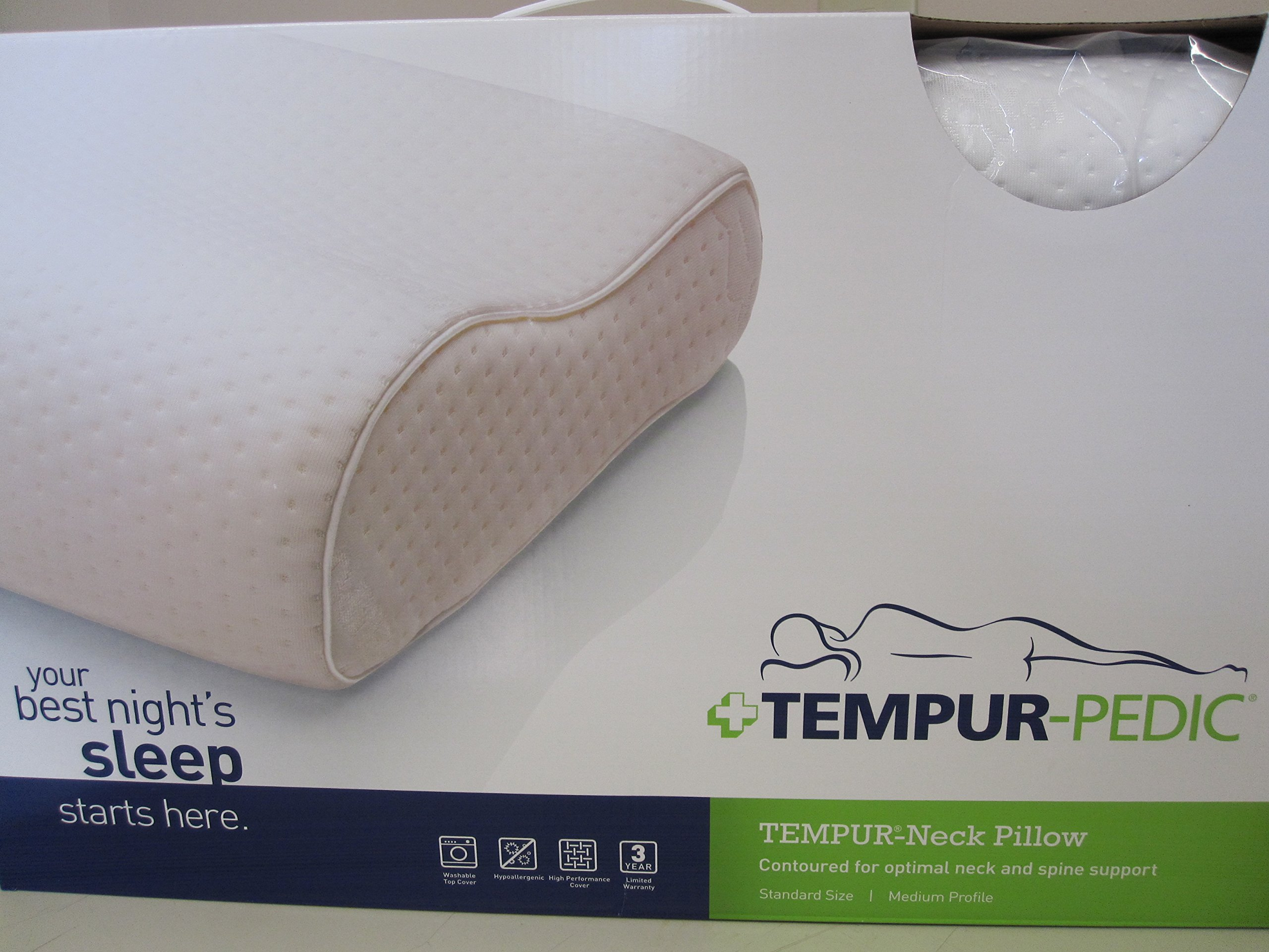 Tempur-Pedic North America- - Swedish Neck Pillow - Std Medium by Tempur-Pedic