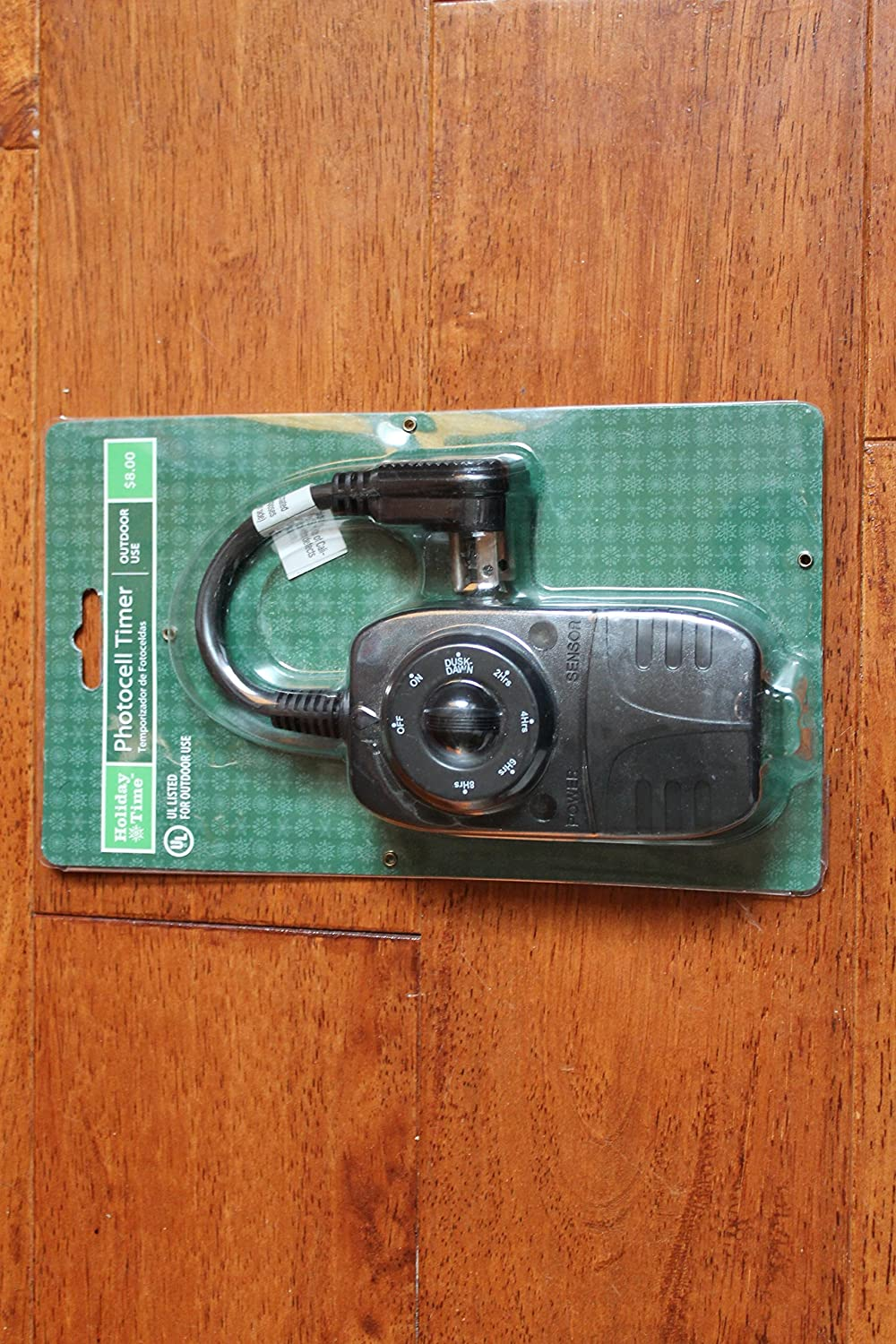 Holiday Time Photocell Timer