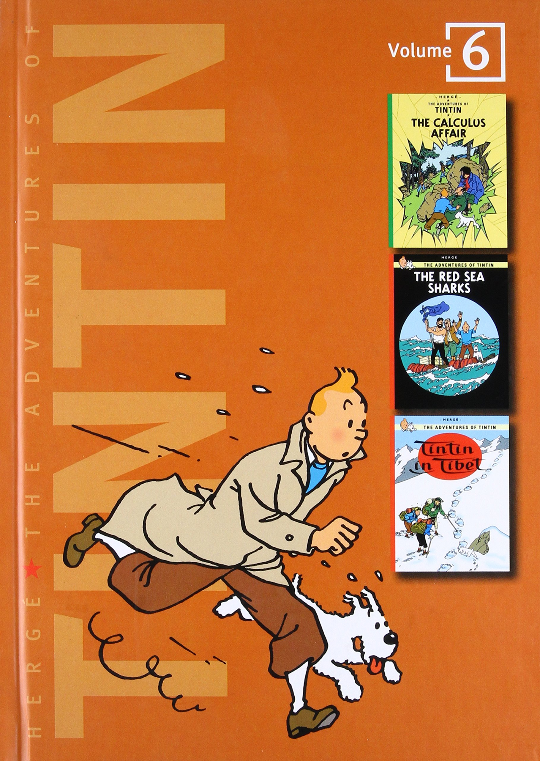 Image result for the adventures of tintin volume 6