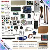 Freenove Ultimate Starter Kit for Arduino   Beginner Learning   UNO R3 MEGA NANO MICRO   Processing Oscilloscope Voltmeter   51 Projects, 260 Pages Detailed Tutorials, 210+ Components