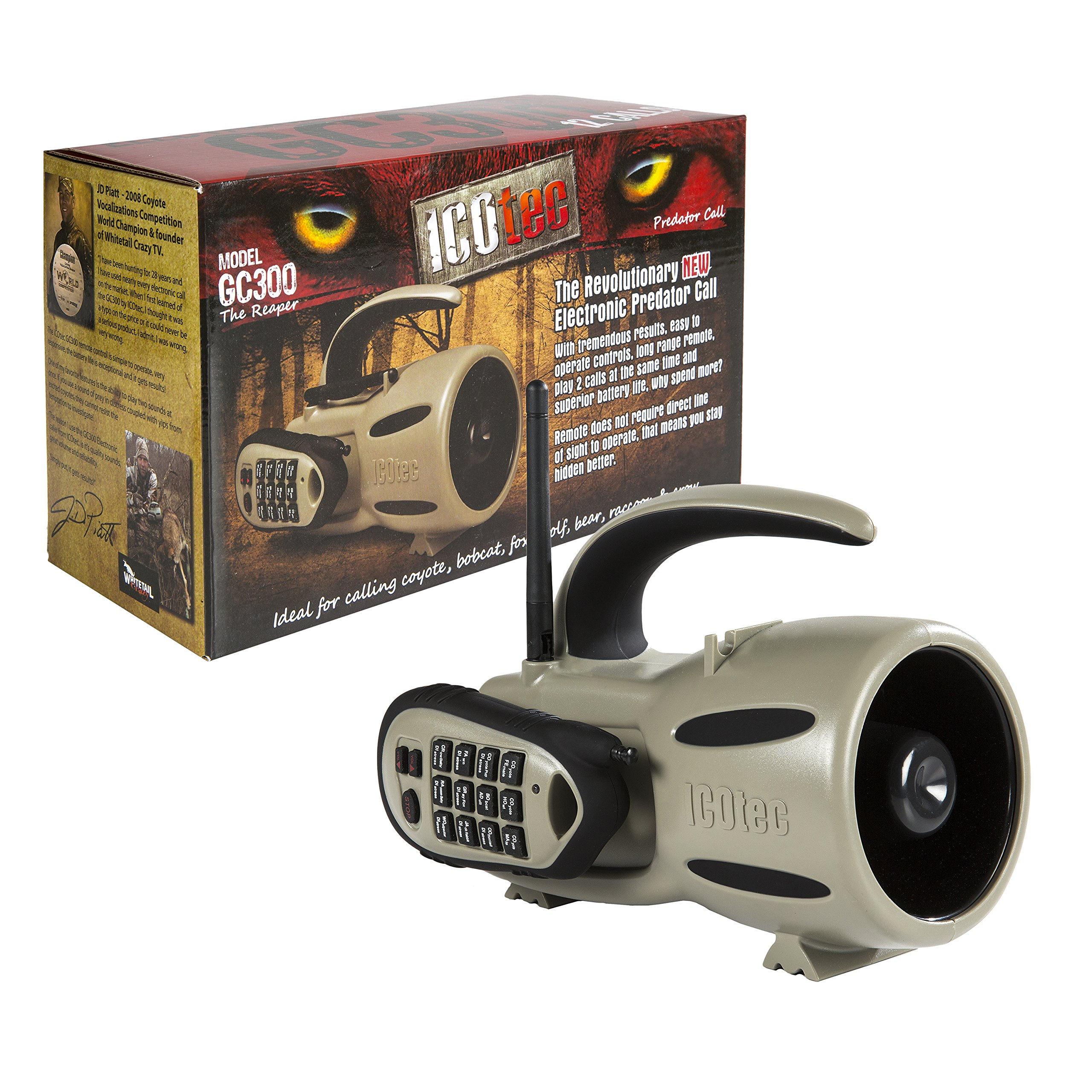 Icotec GC300 - Call of the Wild Electronic Game Call