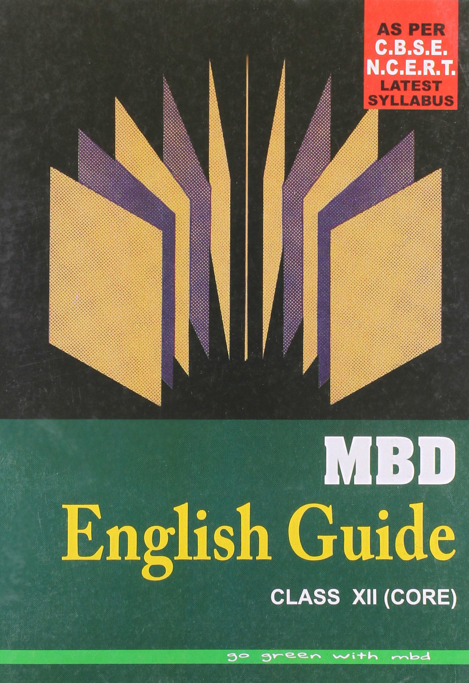 mbd english elective guide for class 12 free download