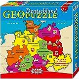 """Geo Puzzle - Puzzle de 51 piezas """"Alemania"""""""