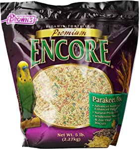 Brown's Encore Premium Parakeet Food