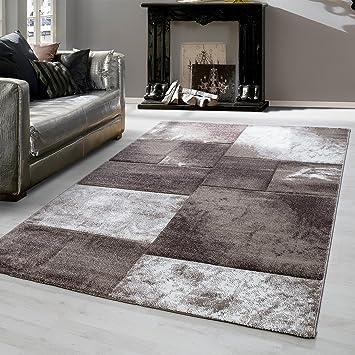 Amazon.de: Teppiche modern designer für Wohnzimmer, Esszimmer ...