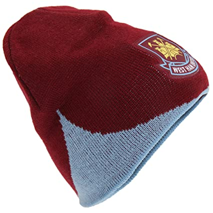 618e7f83ae2 Image Unavailable. Image not available for. Color  West Ham Wave Knitted Beanie  Hat