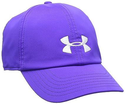 Under Armour Women s UA Renegade Cap Constellation Purple Constellation  Purple White Hat 48ce03805f8