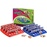 Pengwin Guess Who What's Your Face Children's Classic Educational Board Game For Kids & Adults | Tabletop Gameboards, Playing Cards & Pieces | Enhance Critical Thinking, Have Fun, Cooperate, Act Fast