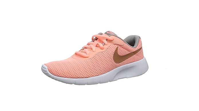 Nike Tanjun GS Schuhe Sneaker Freizeit Sport Laufschuhe black pink 818384-061