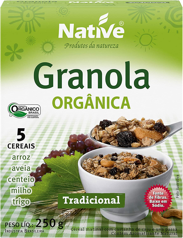 Granola Tradicional Orgânica Native 250g por Native