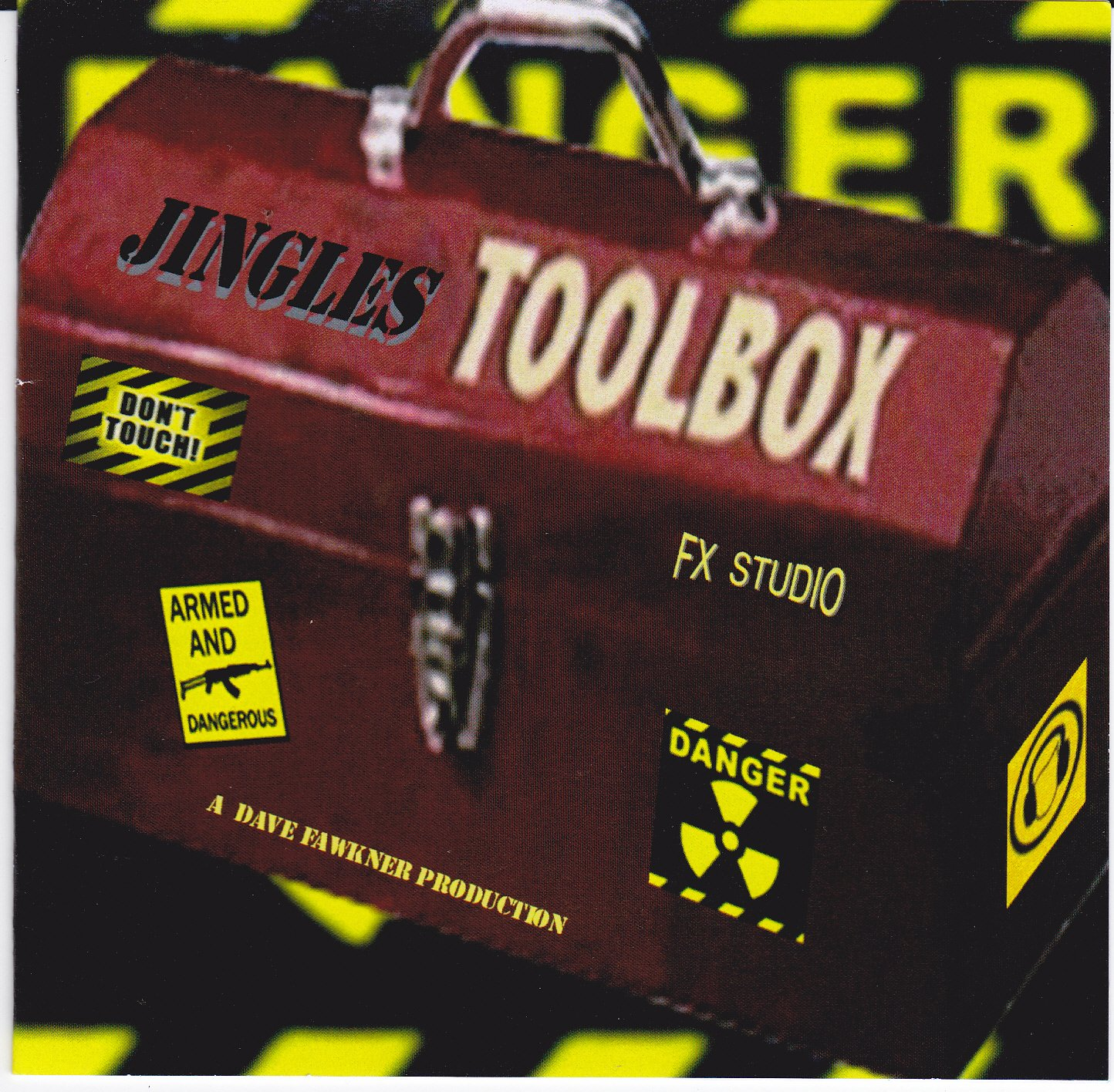THE JINGLES TOOLBOX CD,PROFESSIONAL AUDIO FOR DJ / RADIO