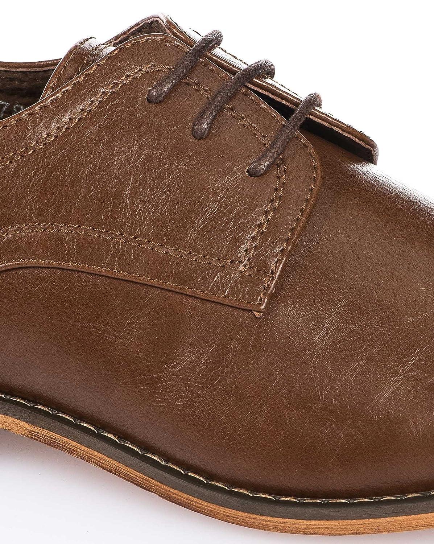 BLZ jeans - Männer Halbschuh chic braunem Leder-Effekt - Size  45, Color   Braun  Amazon.de  Schuhe   Handtaschen aef1cec3dc