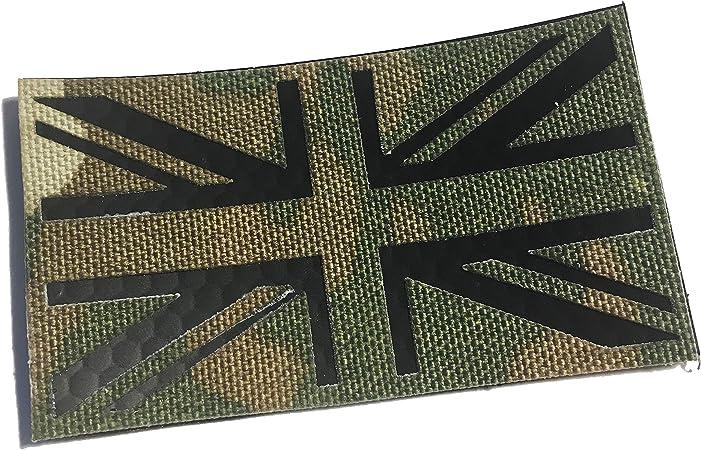 Tacvasen toppa ricamata 2/pezzi motivo bandiera del Regno Unito