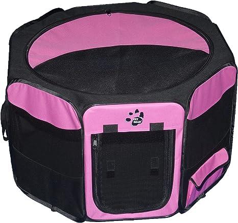 Pink Medium Pet Gear Octagon Pet Pen with Removable Top