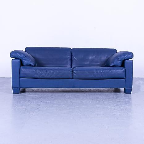 Amazon.com: De Sede DS 17 - Sofá de diseño Blau Dreisitzer ...