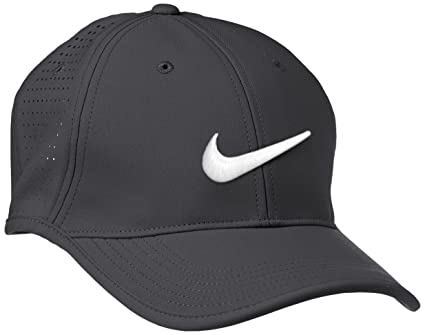 a9300c9a0a787 Image Unavailable. Image not available for. Color  Nike Golf- Nike  Ultralight Tour Perf Cap 727034-021 Gray