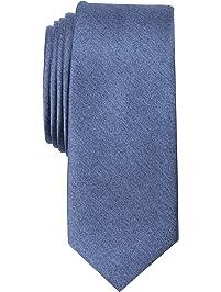 Original Penguin Men's Solid Satin Super Slim Tie Accessory