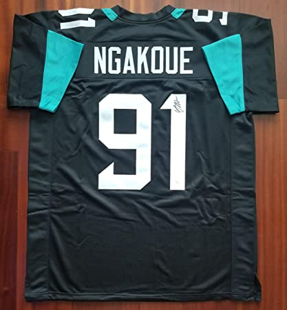 fa8b6bfc991 Image Unavailable. Image not available for. Color: Yannick Ngakoue  Autographed Signed Jersey Jacksonville Jaguars JSA