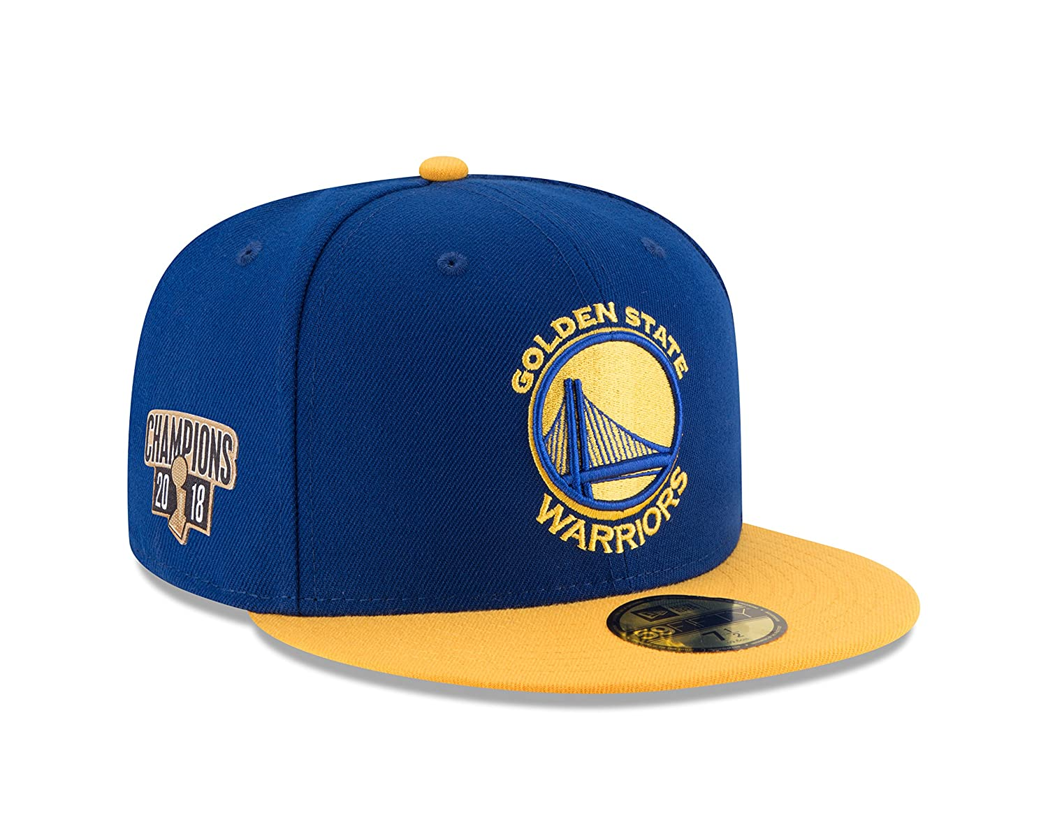 cd8fcae5cff Amazon.com   New Era Golden State Warriors 2018 NBA Finals Champions  59FIFTY Fitted Hat - Royal   Sports   Outdoors