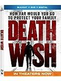 Death Wish (Blu-ray + DVD + Digital)