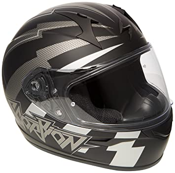 Scorpion Casco Moto exo-390 Patriot, multicolor, talla XXL