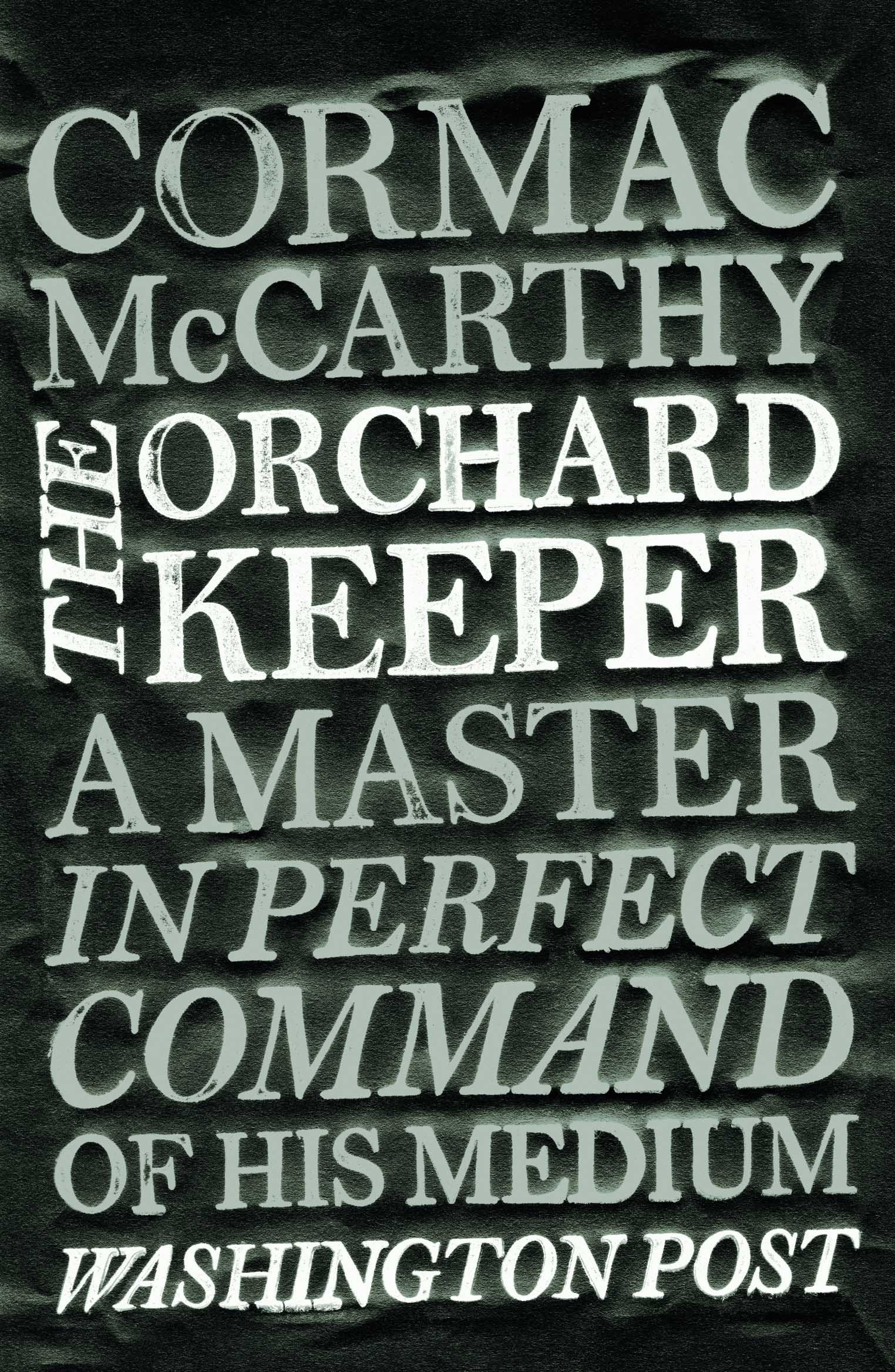The Orchard Keeper: Amazon: Cormac Mccarthy: 9780330511254: Books