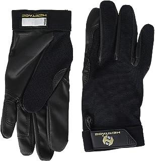 8//9 Heritage Power Grip Nylon Glove White