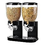 Amazon Price History for:Zevro KCH-06121/GAT200 Indispensable Dry Food Dispenser, Dual Control, Black/Chrome
