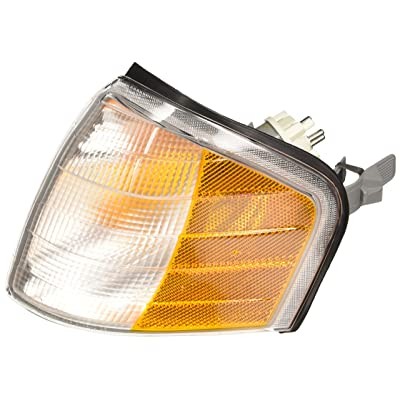 TYC 18-5924-00-1 Compatible with MERCEDES-Benz Front Left Replacement Side Marker Lamp: Automotive