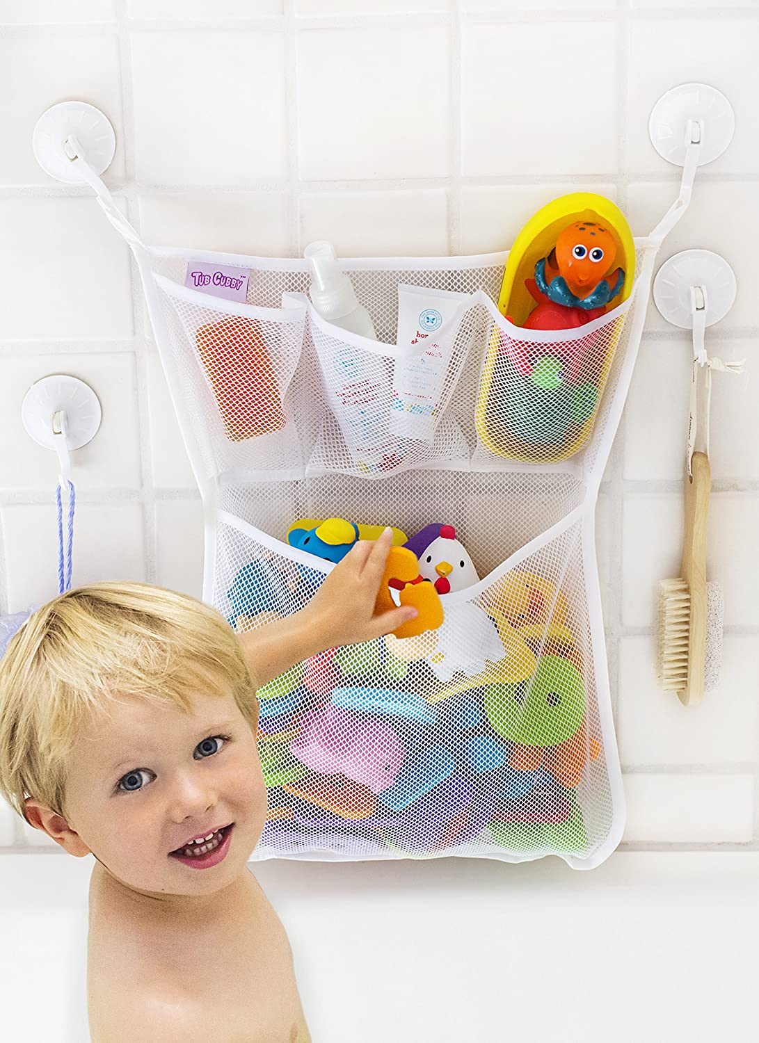 2019 New Style Cosy Angel Kids Premium Baby Bath Toy Storage toddlers Large Toy Organiser Bag Bath