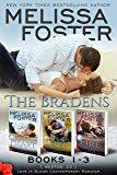 The Bradens (Books 1-3 Boxed Set): Love in Bloom (Love in Bloom: The Bradens)