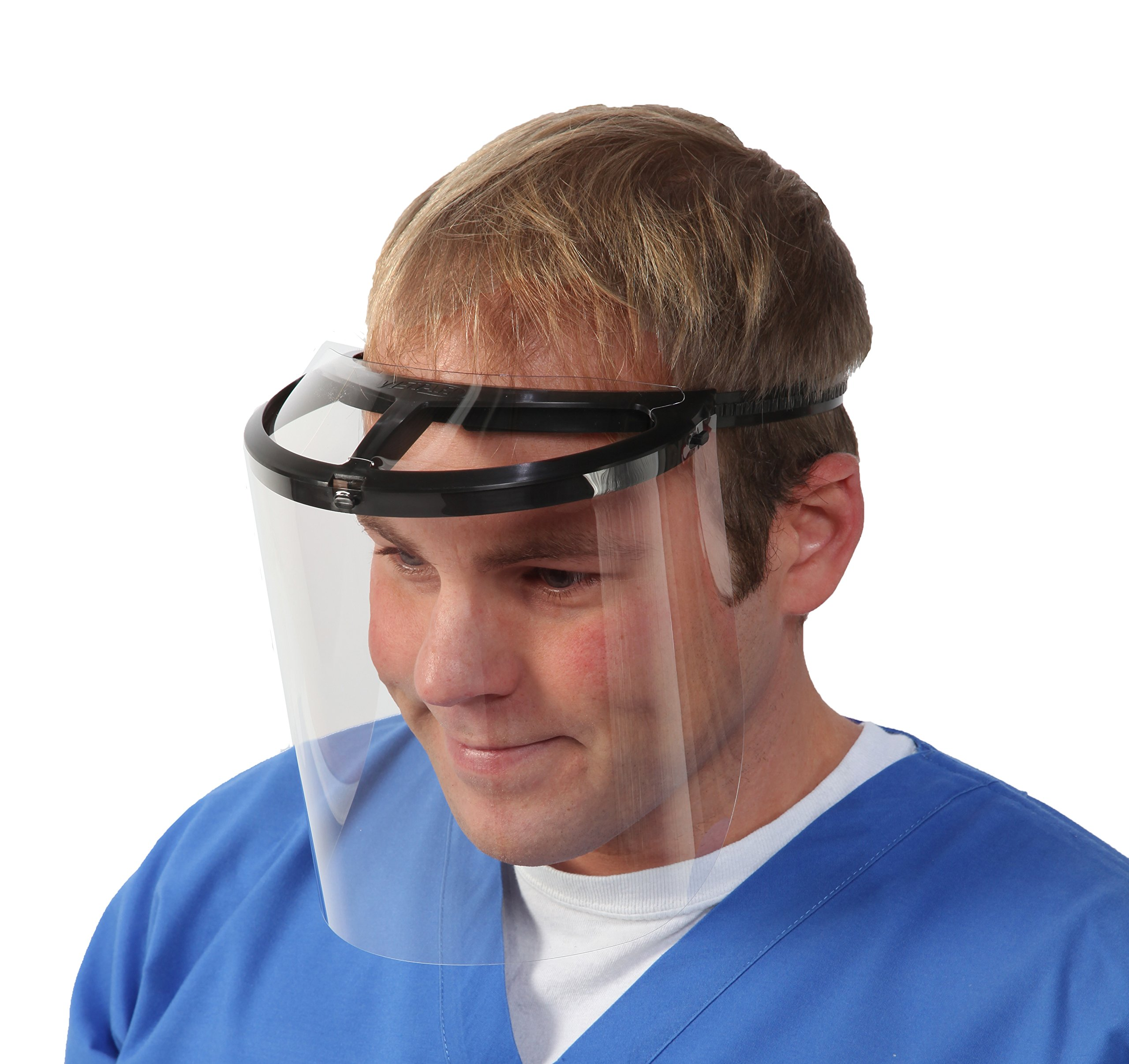 Bio-Mask Face Shield With 10 Shields (Black)
