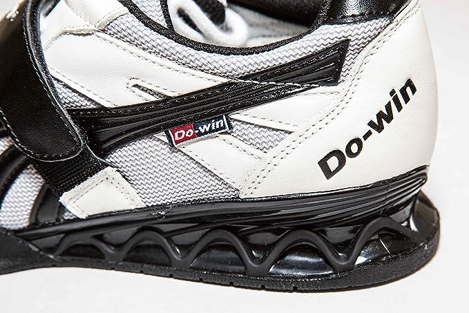Do-Win Gong Lu 3 - Zapatillas para levantamiento de pesas, tallas: 37 a 50, color blanco y negro, WL9501D-010, uk6