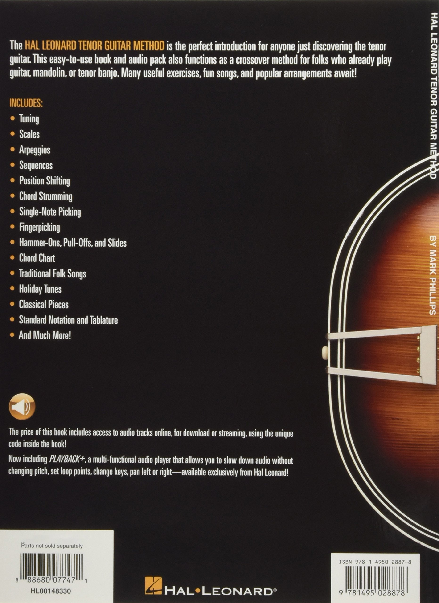 Hal Leonard Tenor Guitar Method Amazon Mark Phillips Dr Books