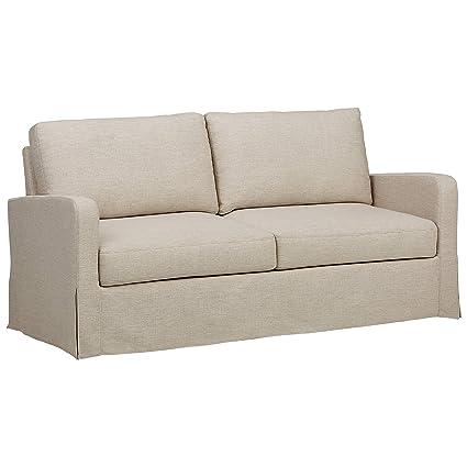 Ravenna Home Waterloo Modern Slipcover Sofa, 71