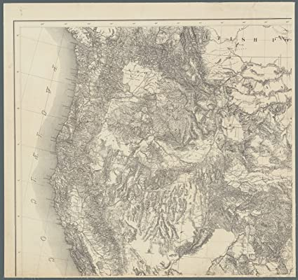 Amazon.com: Map Poster - Territory of the United States from the ...