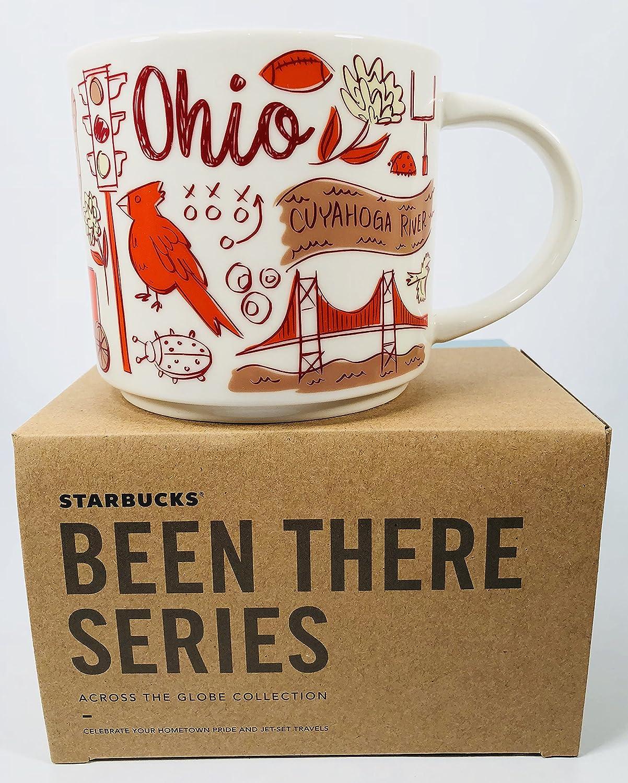 Starbucks Ohio Mug Been There Series Across the Globe Collection