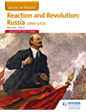 Access to History: Reaction and Revolution: Russia 1894-1924 Fourth Edition (English Edition)