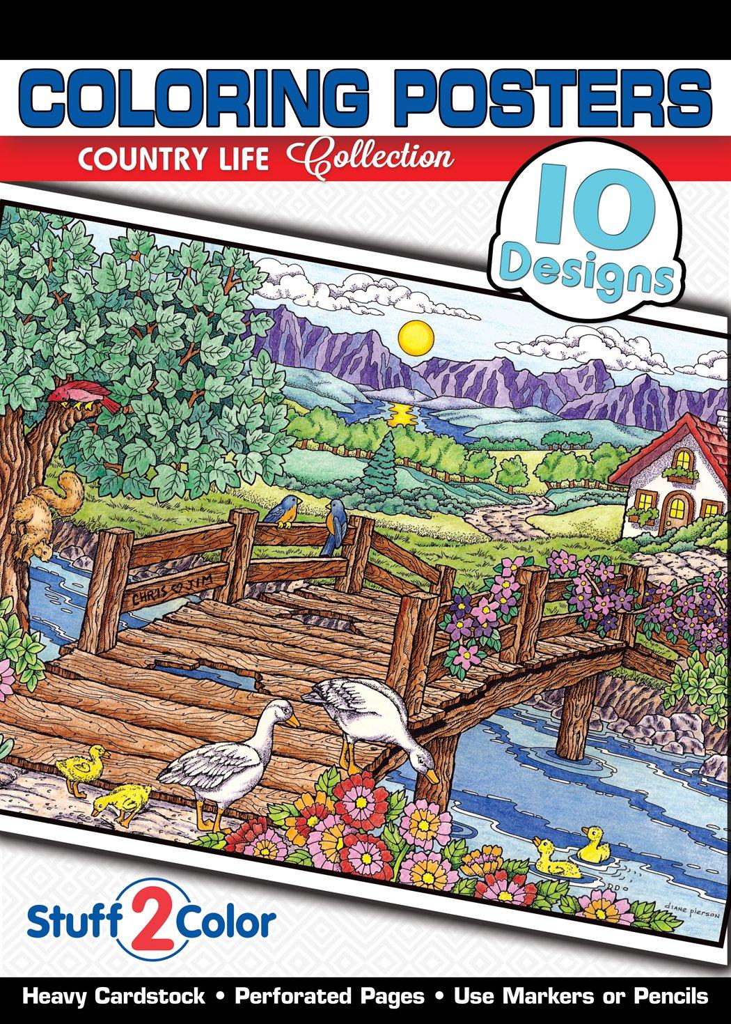 Country Life Premium Coloring Designs